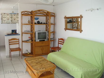 The flat of the holiday rental Villa at Saint-François ,Guadeloupe