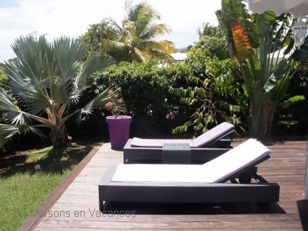 The villa of the holiday rental Villa at Saint-François ,Guadeloupe