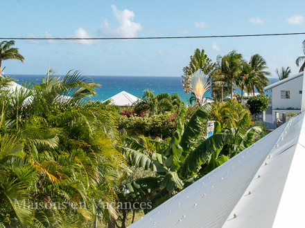 The view of the holiday rental Villa at Saint-François ,Guadeloupe