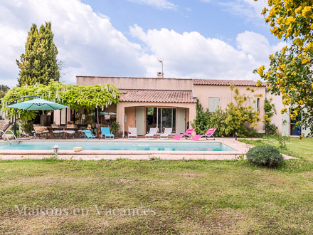 Detached villa in Rognes