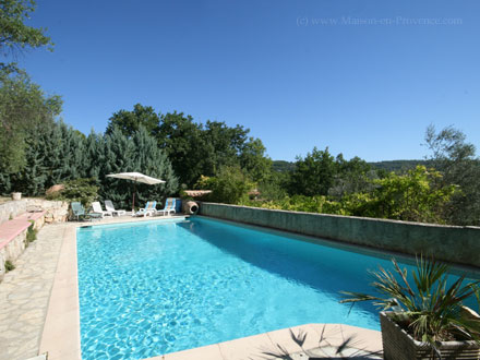 Provençal detached house in Fayence