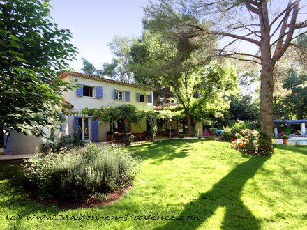 Detached villa in Aix-en-Provence
